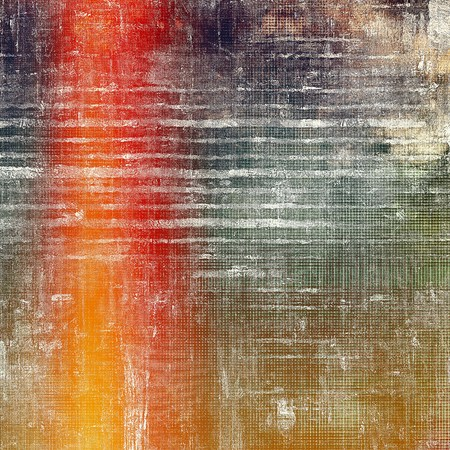 veined: Veined grunge background or scratched texture with vintage feeling and different color patterns: yellow (beige); brown; green; red (orange); black; white
