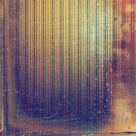 violet red: Old grunge vintage background or shabby texture with different color patterns: yellow (beige); brown; blue; red (orange); purple (violet); pink Stock Photo