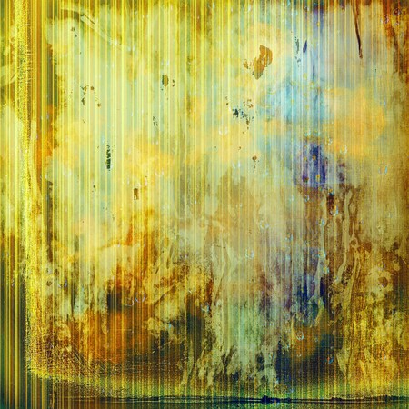 eroded: Retro vintage colored background with noise effect; grunge texture with different color patterns: yellow (beige); brown; green; blue