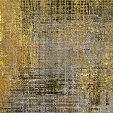 obscure: Abstract faded retro background or shabby texture with vintage style design and different color patterns: yellow (beige); brown; gray; black Stock Photo