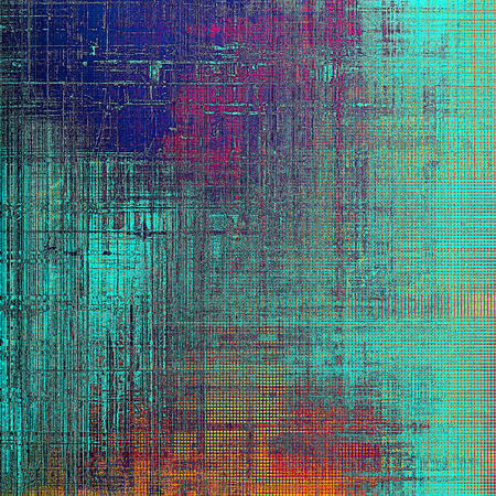 crosshatch: Beautiful retro background, nice looking ancient texture with different color patterns: yellow (beige); red (orange); purple (violet); blue; pink; cyan