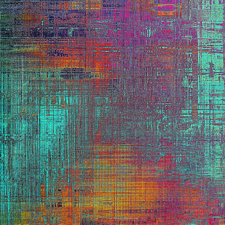 violet red: Vintage decorative texture with grunge design elements and different color patterns: yellow (beige); blue; red (orange); purple (violet); pink Stock Photo