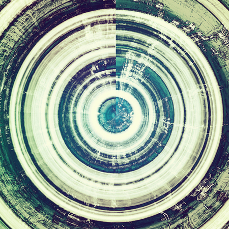 nice looking: Spherical nice looking grunge texture or abstract background. With different color patterns: green; blue; gray; white; cyan