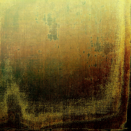 shadowy: Vintage retro frame or background, old school textured backdrop. With different color patterns: yellow (beige); brown; green; gray; black Stock Photo