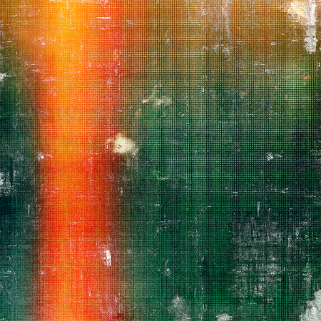 mottled: Vintage mottled frame, textured grunge background with different color patterns: yellow (beige); brown; green; red (orange)