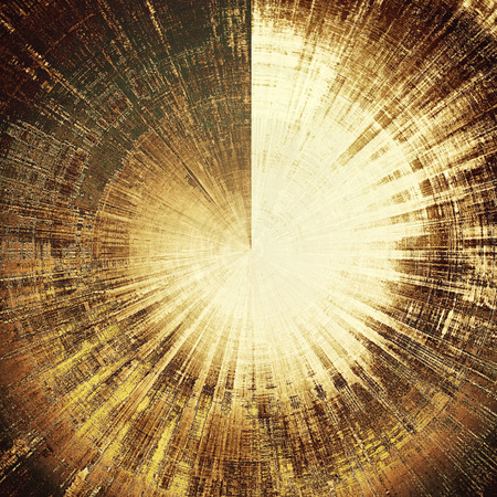 obscure: Spherical old grunge background or aged shabby texture with different color patterns: yellow (beige); brown; gray; black; white