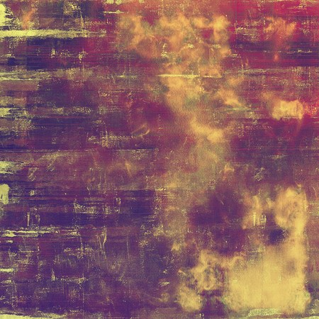 crosshatching: Vintage style designed background, scratched grungy texture with different color patterns: yellow (beige); brown; gray; red (orange); purple (violet); pink