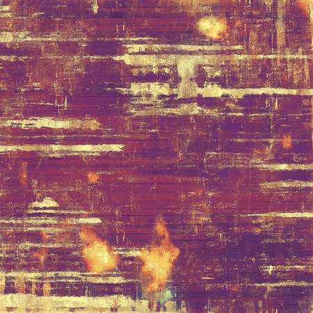 violet red: Vintage background in scrap-booking style, faded grunge texture with different color patterns: yellow (beige); brown; red (orange); purple (violet); pink