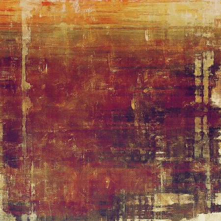 dull: Vintage texture, old style frame decoration with grunge graphic elements and different color patterns: yellow (beige); brown; red (orange); gray; purple (violet); pink