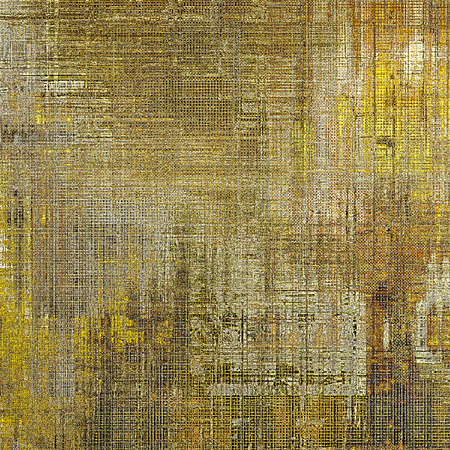 degraded: Vintage old retro background with ancient style design elements and different color patterns: yellow (beige); brown; gray