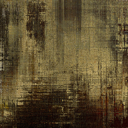 intensity: Colorful grunge texture or background with vintage style elements and different color patterns: yellow (beige); brown; gray; black