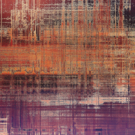 violet red: Abstract grunge weathered background of vintage texture. With different color patterns: yellow (beige); brown; gray; red (orange); purple (violet); pink
