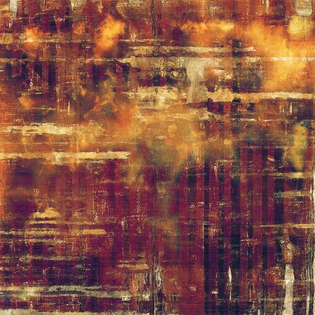 violet red: Vintage old-style texture, worn and rough grunge background with different color patterns: yellow (beige); brown; red (orange); purple (violet); pink