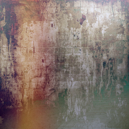 corrosion: Digitally designed background or texture for retro style frame. With different color patterns: yellow (beige); brown; gray; green; red (orange); purple (violet) Stock Photo