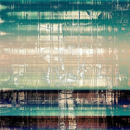 tincture: Art grunge background, vintage style textured frame. With different color patterns: yellow (beige); brown; green; blue; black; cyan Stock Photo