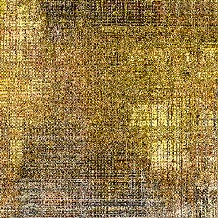 stretched: Grunge old texture used as abstract vintage style background. With different color patterns: yellow (beige); brown; gray
