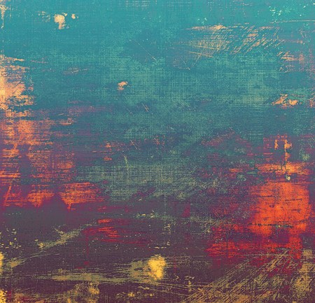 violet red: Colorful grunge texture or background with vintage style elements and different color patterns: yellow (beige); blue; red (orange); gray; purple (violet); pink Stock Photo