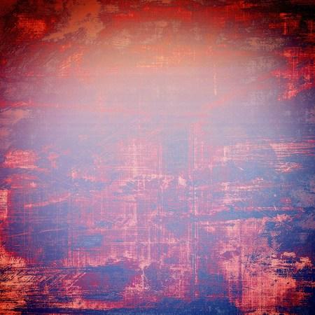 violet red: Elegant vintage background, grunge design template. Ancient texture with different color patterns: blue; red (orange); purple (violet); pink Stock Photo