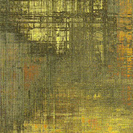 obscure: Decorative vintage texture or creative grunge background with different color patterns: yellow (beige); brown; red (orange); gray; black