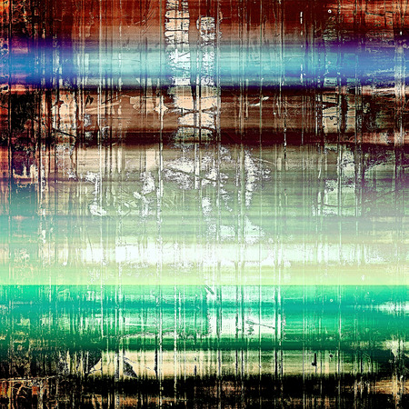 green brown: Abstract grunge background or damaged vintage texture. With different color patterns: yellow (beige); brown; green; blue; black; white Stock Photo