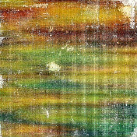 exceptional: Elegant vintage background, grunge design template. Ancient texture with different color patterns: yellow (beige); brown; green; blue; red (orange) Stock Photo