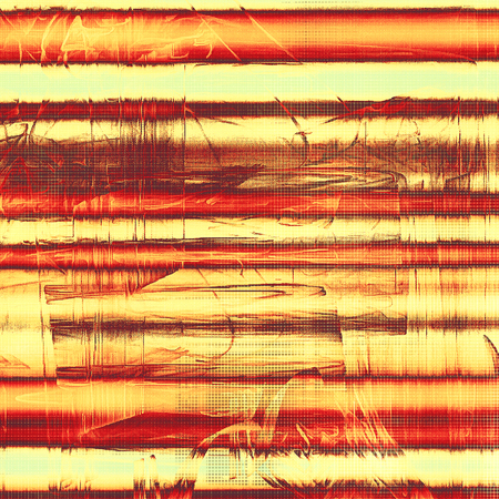 eroded: Scratched grunge background or spotted vintage texture. With different color patterns: yellow (beige); brown; red (orange); cyan