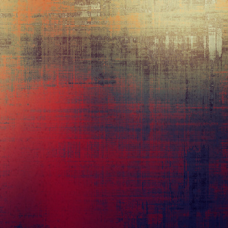 violet red: Distressed grunge texture, damaged vintage background with different color patterns: yellow (beige); brown; red (orange); purple (violet); gray; pink