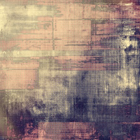 obscure: Vintage style shabby texture or background with classy grungy elements and different color patterns: yellow (beige); brown; gray; purple (violet); pink