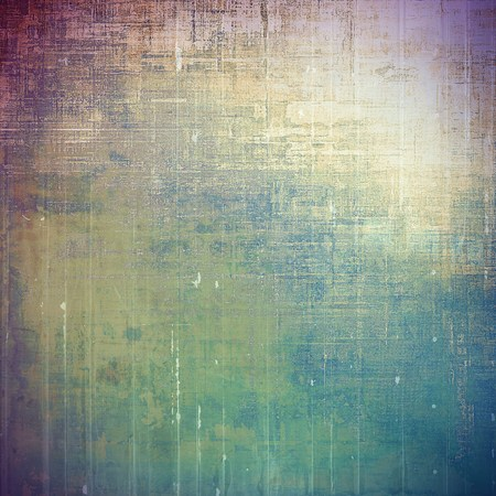 eroded: Old abstract texture used as shabby grungy background. With different color patterns: yellow (beige); brown; green; blue; gray; purple (violet)