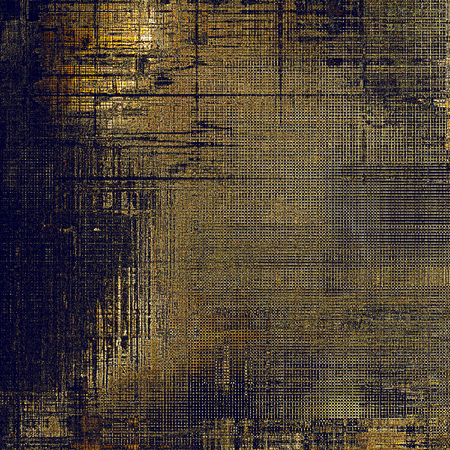 eroded: Grunge texture, decorative vintage background. With different color patterns: yellow (beige); brown; gray; purple (violet); black