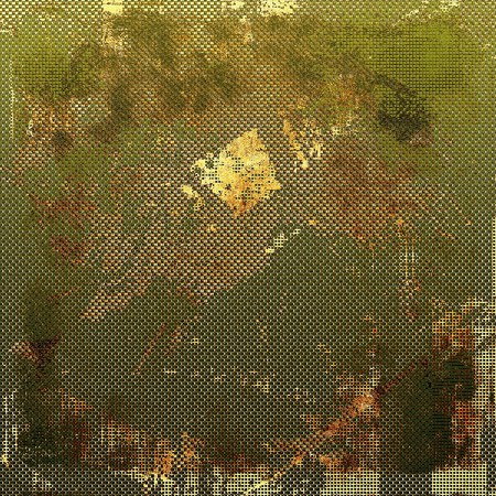 mottled: Vintage mottled frame, textured grunge background with different color patterns: yellow (beige); brown; green; gray