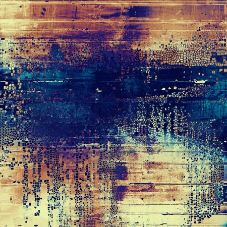 violet red: Old, grunge background or damaged texture in retro style. With different color patterns: yellow (beige); brown; blue; red (orange); purple (violet)