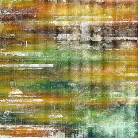 nice looking: Nice looking grunge texture or abstract background. With different color patterns: yellow (beige); brown; green; gray; red (orange); white Stock Photo