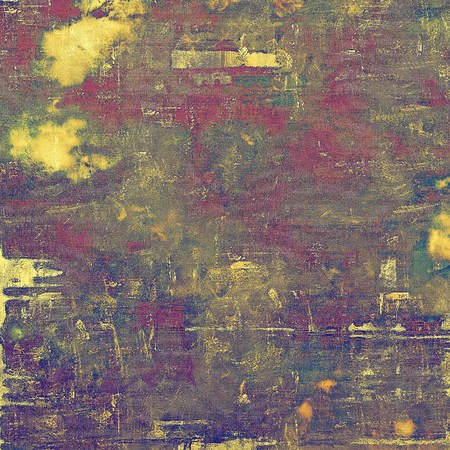 obscure: Stylish grunge texture, old damaged background. With different color patterns: yellow (beige); green; blue; gray; purple (violet); pink