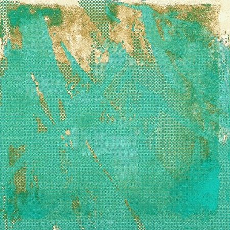 eroded: Vintage aged texture, old scratched background. With different color patterns: yellow (beige); brown; green; blue; gray; cyan