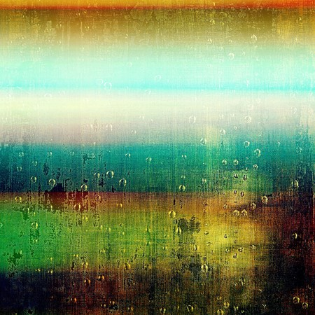 grunge frame: Nice looking grunge texture or abstract background. With different color patterns: yellow (beige); brown; green; blue; red (orange); black Stock Photo