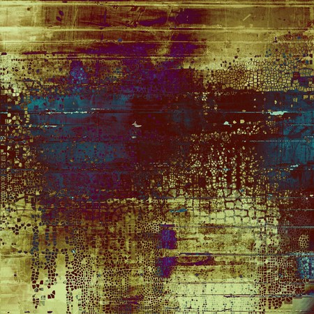 shadowy: Scratched vintage colorful background, designed grunge texture. With different color patterns: yellow (beige); brown; blue; purple (violet)