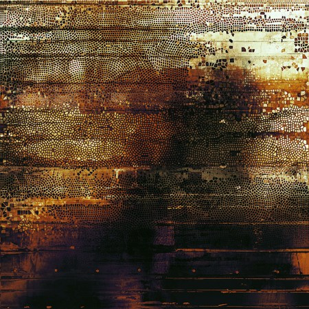 violet red: Scratched vintage colorful background, designed grunge texture. With different color patterns: black; purple (violet); red (orange); yellow (beige); gray