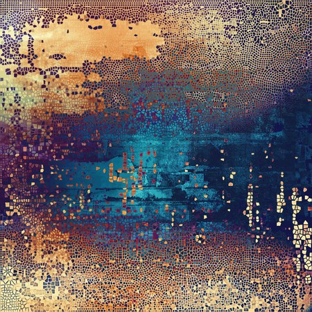 res: Hi res grunge texture or retro background. With different color patterns: yellow (beige); brown; blue; red (orange); purple (violet); pink