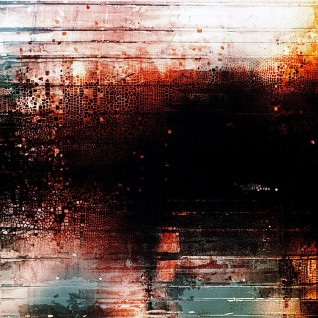 distressed background: Distressed texture with ragged grunge overlay. Wrinkled background or backdrop with different color patterns: yellow (beige); brown; blue; red (orange); black; white
