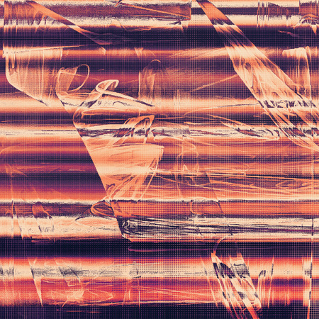 violet red: Oldest vintage background in grunge style. Ancient texture with different color patterns: yellow (beige); brown; red (orange); purple (violet); black; pink