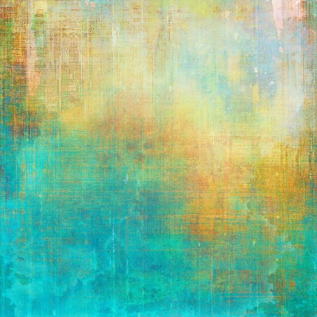 degraded: Veined grunge background or scratched texture with vintage feeling and different color patterns: yellow (beige); green; blue; red (orange); cyan
