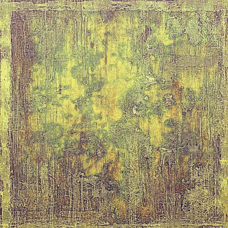 eroded: Veined grunge background or scratched texture with vintage feeling and different color patterns: yellow (beige); brown; gray; green; purple (violet) Stock Photo
