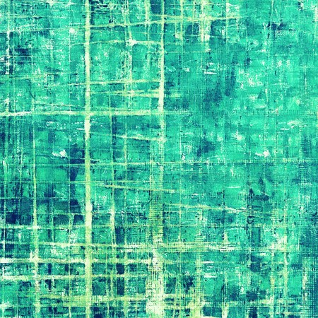 tinted: Cute colorful grunge texture or tinted vintage background with different color patterns: green; blue; cyan; white