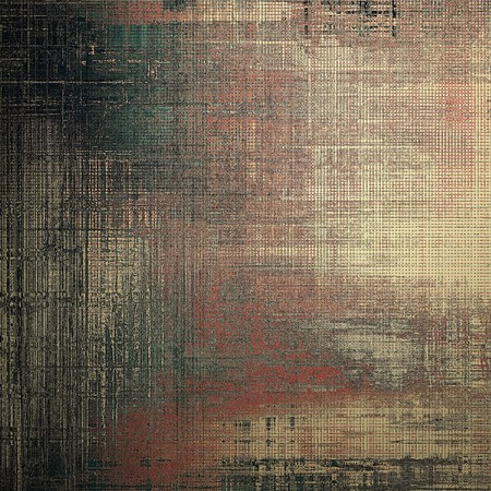 gray thread: Ancient textured background or shabby backdrop. With different color patterns: yellow (beige); brown; gray; green; red (orange); black