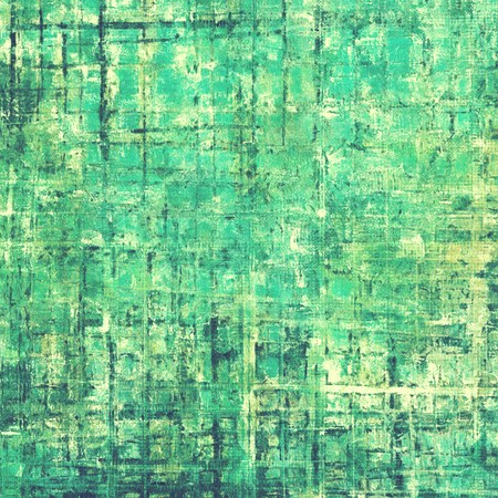 degraded: Retro style background with grungy vintage texture and different color patterns: yellow (beige); gray; green; blue; cyan