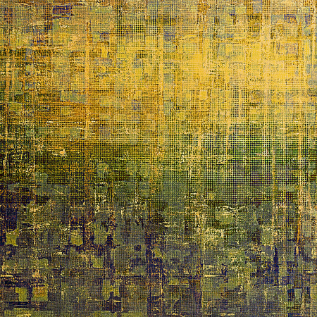 exceptional: Grunge abstract textured background, aged backdrop with different color patterns: yellow (beige); brown; gray; blue; green