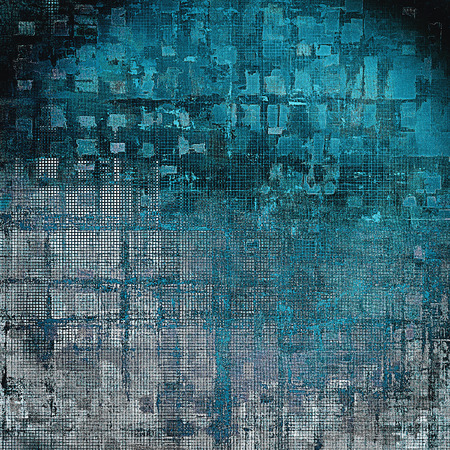 eroded: Cute colorful grunge texture or tinted vintage background with different color patterns: gray; black; blue; cyan