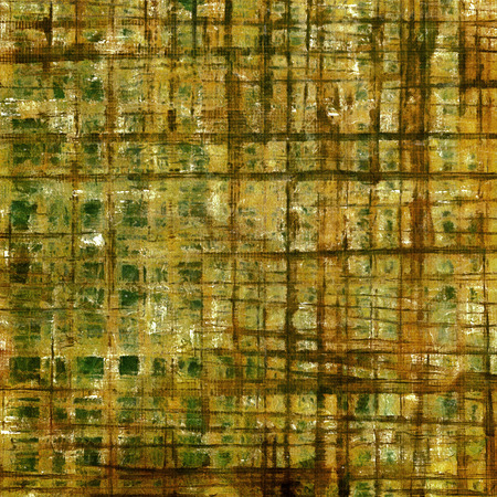 green brown: Retro abstract background, vintage grunge texture with different color patterns: yellow (beige); brown; green; gray