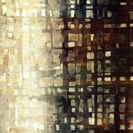 saturated color: Abstract grunge background or aged texture. Old school backdrop with vintage feeling and different color patterns: yellow (beige); brown; black; gray; white